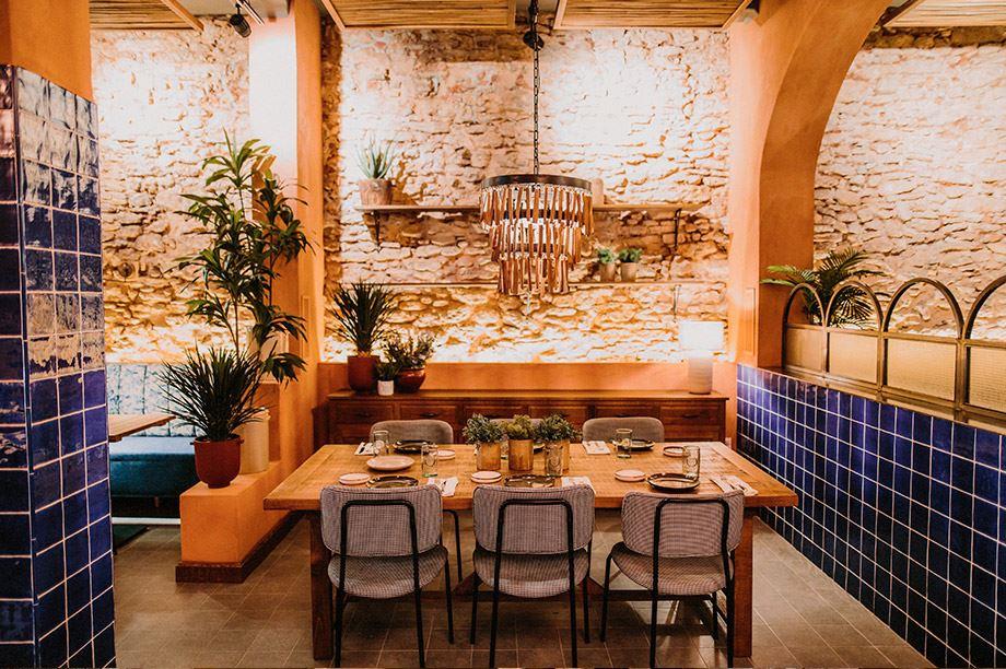 decoración de restaurante - Tropicana