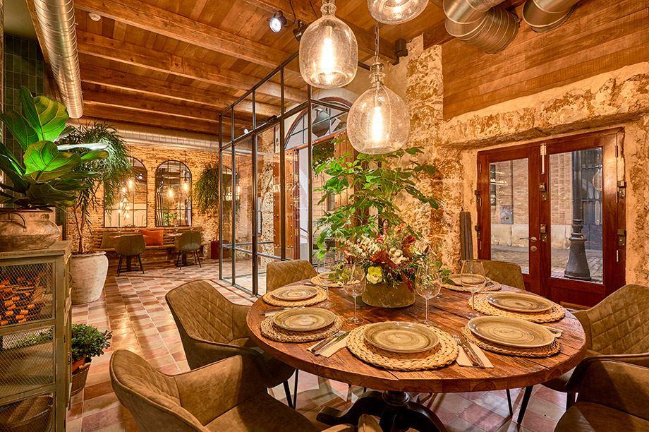 estilos de decoración de restaurantes - La Chancha